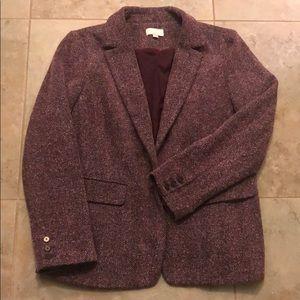 Loft jacket/blazer maroon-14